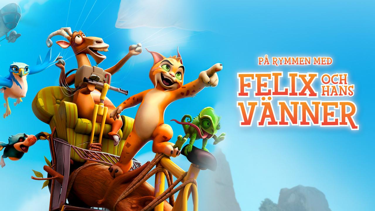 På rymmen med Felix och hans vänner