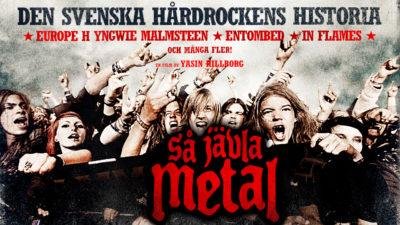 Så jävla metal